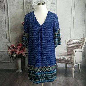 Everly Women's Dress Blue Size Small Polyester